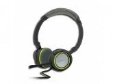 APPROX FOLDABLE STEREO HEADSET GREY/GREEN