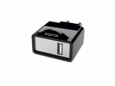 APPROX USB TRAVEL WALL CHARGER 5V/1Ax1 USB BLACK