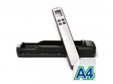 AVISION SCANNER MiWand 2L PRO SILVER w/Docking Station GLD