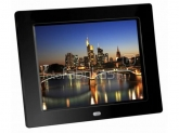 BRAUN  DIGIFRAME 855 black (8inch/4:3) - PC independent Digital Photo Frame