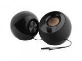 CREATIVE PEBBLE USB 2.0 Speakers - black