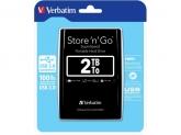 Hard Disk portabil Verbatim Store 'n' Go 2TB, USB 3.0, 2.5inch