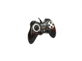 MT Digital-analog gamepad with VIBRATION FORCE PC - black