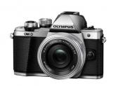 Olympus E-M10 Mark II silver + EZ-M1442EZ silver Pancake