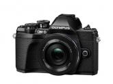 Camera foto Mirrorless Olympus E-M10 Mark III Pancake Zoom, 16.1MP, Black