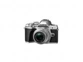 Camera foto Mirrorless Olympus E-M10 Mark III Pancake Zoom, Silver-Black