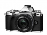 Camera Foto Olympus E-M5 Mark II silver + EZ-M1442 black