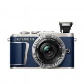 Olympus E-PL9 Pancake Zoom Kit blue/silver kit