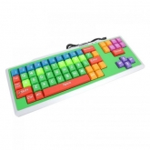 OMEGA KEYBOARD US FOR KIDS OK-0200 MULTI-COLOR USB