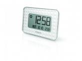 OREGON Ceas de perete JW208 cu termometru, alb