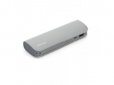 PLATINET POWER BANK LEATHER 7200mAh GREY+microUSB CABLE