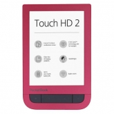 PocketBook Touch HD 2 Ruby Red - eBook Reader premium