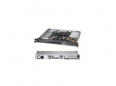 SERVER SYSTEM 1U SATA BLACK/SYS-5018D-MF SUPERMICRO