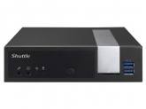 Shuttle Slim-PC Barebone DX30 BLACK Celeron J3355 2.0 GHz