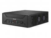 Shuttle Slim-PC Barebone XH270V Black 3.5 litre chassis, black, Bays: 4x 6.35cm/2.5 inch  bay for ha