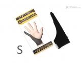 SmudgeGuard 1 finger gloves SG1,Black,Small