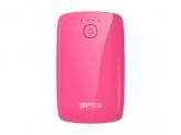 Baterie Portabila Silicon Power, 7800mAh, 2x USB, Pink