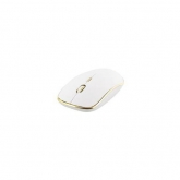 TNB USB-C wireless mouse - white/gold