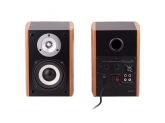 TREVI AV 540 Trevi Powered Speaker High Power wood