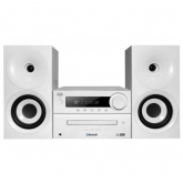 TREVI HCX 1080 BT HiFi System CD, Mp3, USB with Radio white