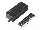 TRUST 120W Plug & Go Laptop & Phone Charger - black