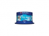 Verbatim CD-R AZO 700MB 52X DL+ WHITE WIDE PRINTABLE SURFACE NON-ID