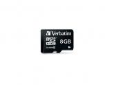 Verbatim  MICRO SDHC CARD 8GB CLASS 10 with adapter