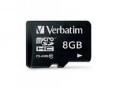 Memory Card Verbatim Premium MicroSDHC, 8GB, Class 10