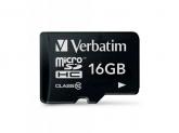 Memory Card Verbatim Premium MicroSDHC, 16GB, Class 10