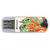 VERBATIM MINI USB2.0 DRIVE TATTOO PHOENIX 16GB