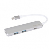 VERBATIM USB-C Hub with HDMI, Grey