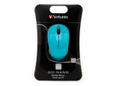 Verbatim  Wireless Laser GO Nano Mouse Blue