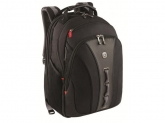 Wenger Legacy 16 inch Computer Backpack, Black/Gray