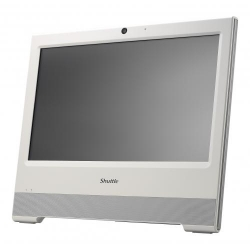 All-in-One PC Barebone X50V6 with touchscreen 39.6cm (15.6 inch) White colour resistive touchscreen