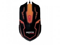 APPROX WRECKER GAMING MOUSE 6B/2400 DPI/7 COLOUR LEDS