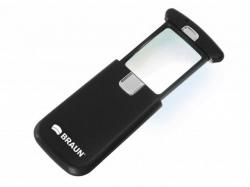 Braun Lupa de buzunar cu iluminare LED BRAUN Ultralit LED 3x