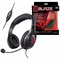 Casti cu microfon Creative Labs Sound Blaster Blaze, Black