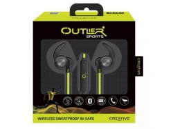 CREATIVE OUTLIER SPORTS - BLUETOOTH Headset,Green