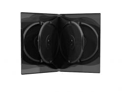 MediaRange Carcasa 6er-DVD-Box black