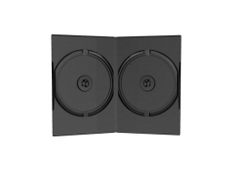 MediaRange  DVD Case Double black 14mm