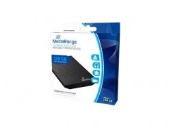 MediaRange External USB 3.0 Solid State Drive, 128GB, black