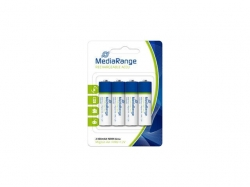 MediaRange Rechargeable NiMH Accus, Mignin AA/HR6/1.2V PACK 4