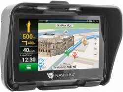 NAVITEL G550 MOTO GPS Navigation 4.3 inch FULL EU w/Bike holder
