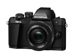 Olympus E-M10 Mark II black + EZ-M1442EZ black Pancake