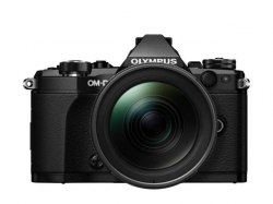 Camera Foto Olympus E-M5 Mark II black + EZ-M1240 PRO black + Lens Hood