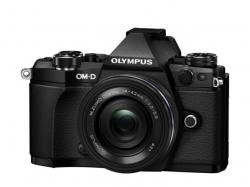 Camera Foto Olympus E-M5 Mark II black + EZ-M1442 EZ black