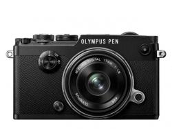 Olympus PEN-F 1718 Kit blk/blk / PEN-F black + EW-M1718 black
