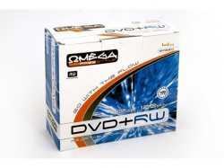 Omega  DVD+RW 4.7GB 4X SLIM CASE