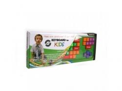 Omega  KEYBOARD US FOR KIDS OK-0200 MULTI-COLOR USB