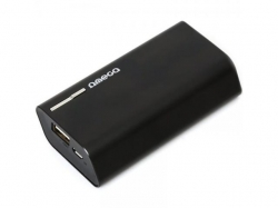 OMEGA POWERBANK 4400MAH 1A ALU BLACK